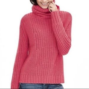 Banana Republic Mix Turtleneck Sweater M